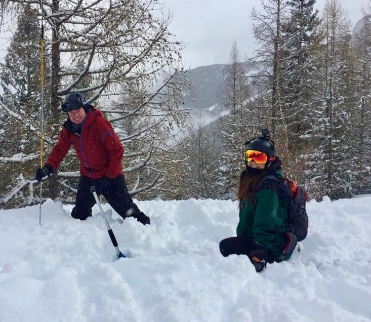 Chamonix Off Piste Ski Guiding, March 2020