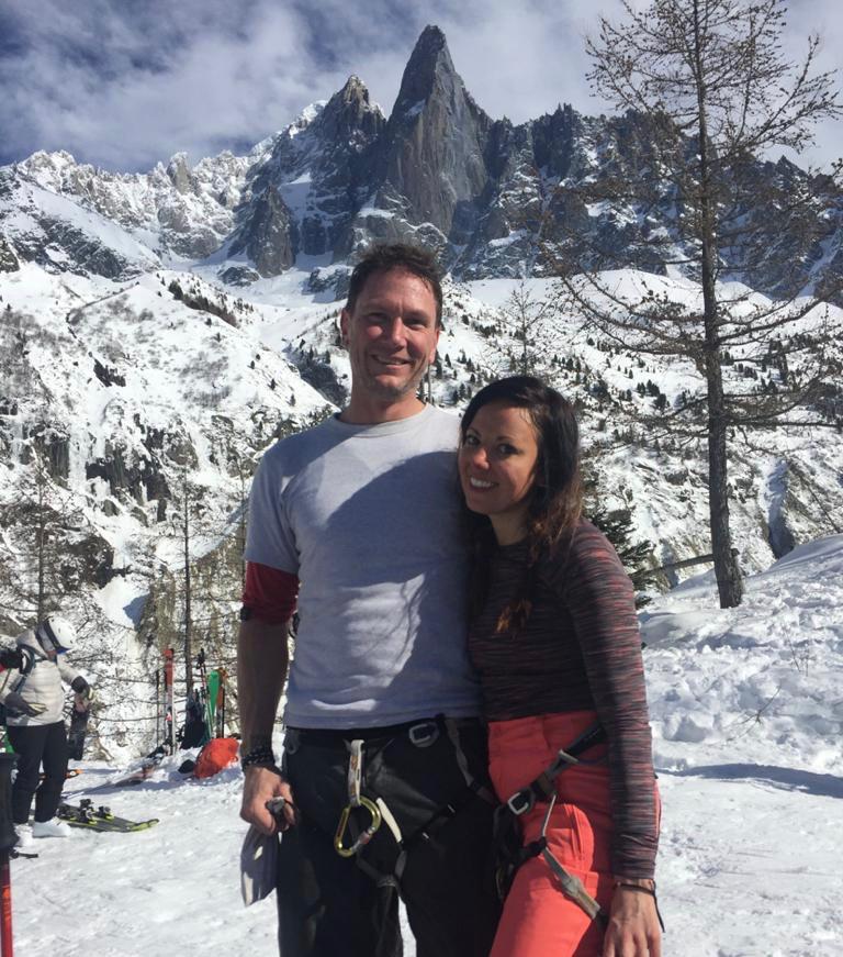 Chamonix Ski Guiding, March 2020