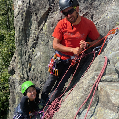 Half Day Chamonix Rock Climbing, Sept 2020