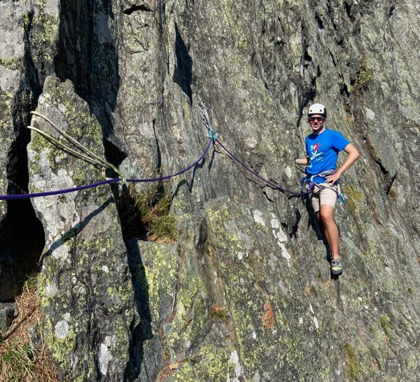 Chamonix Rock Climbing Training Day, Sept 2020