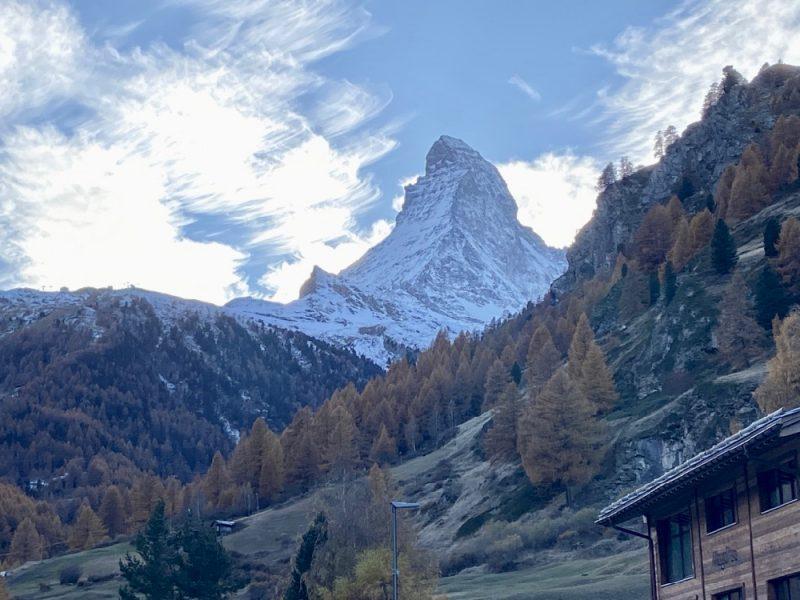The Matterhorn from Zermatt