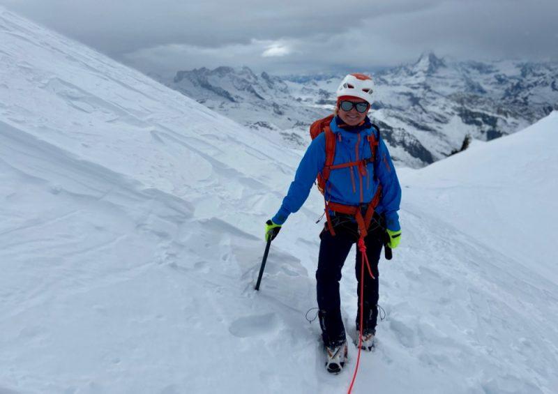 Climb The Allalinhorn
