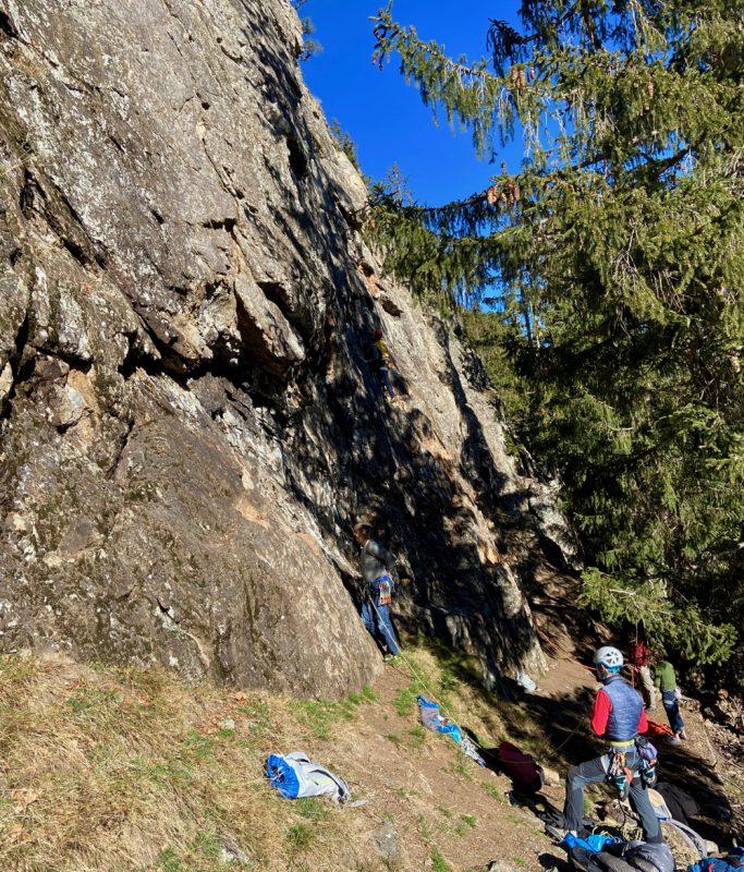 Rock Climbing in Chamonix guide
