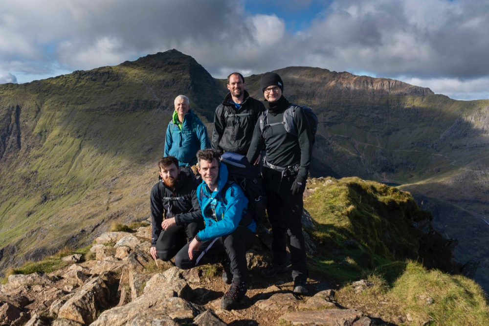 Mont Blanc Training Weekend, Wales Oct 2020