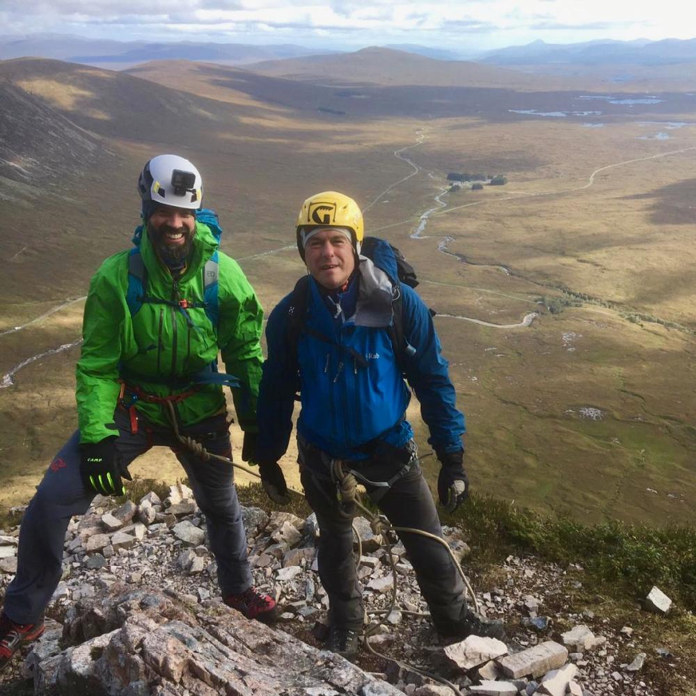 Scottish Highlands Matterhorn Training Weekend