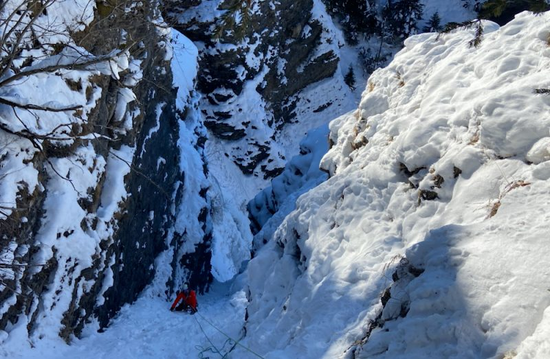 Megeve Ice Climbing guide
