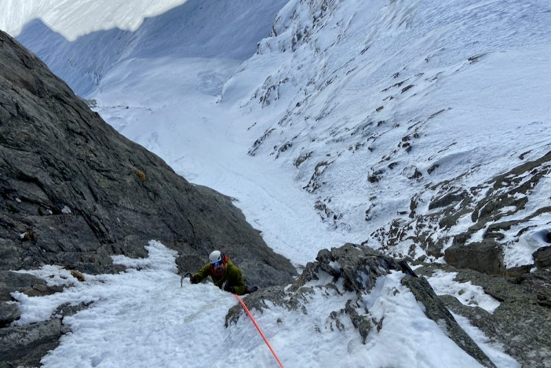 Rive Gauche Ice Climbing