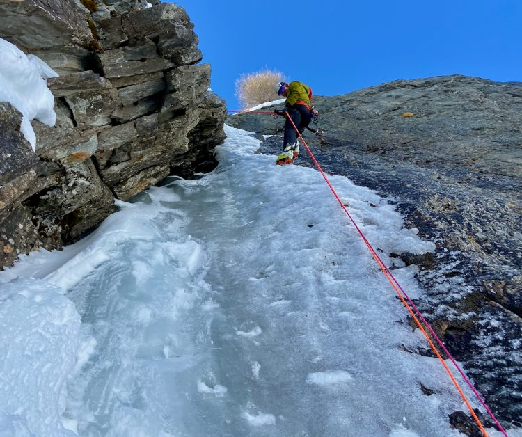 Chamonix Ice Climbing Guide