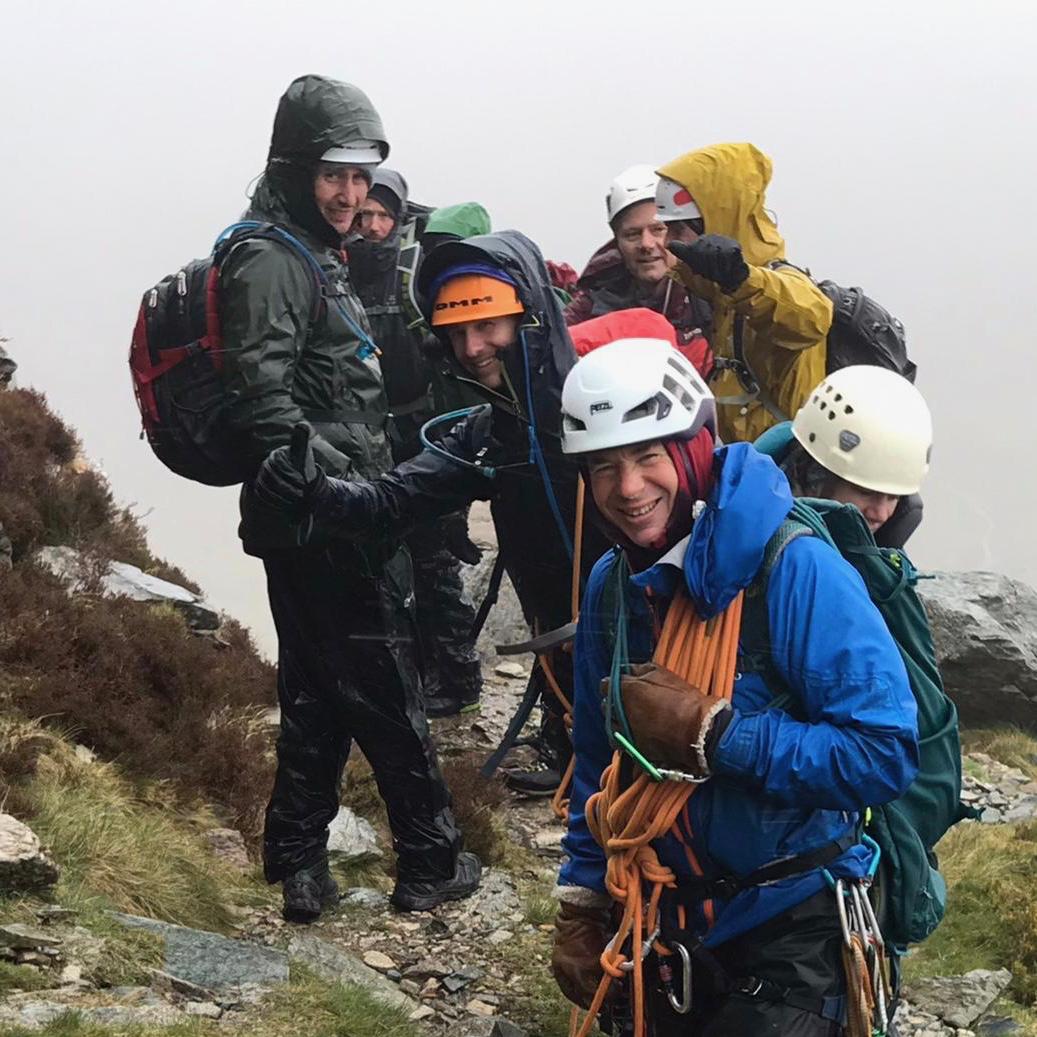 Snowdonia Mont Blanc Training Weekend