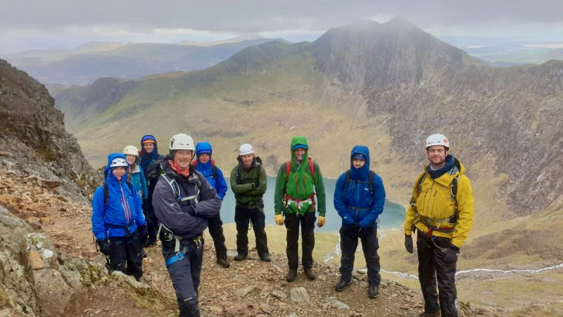 Wales Mont Blanc Training