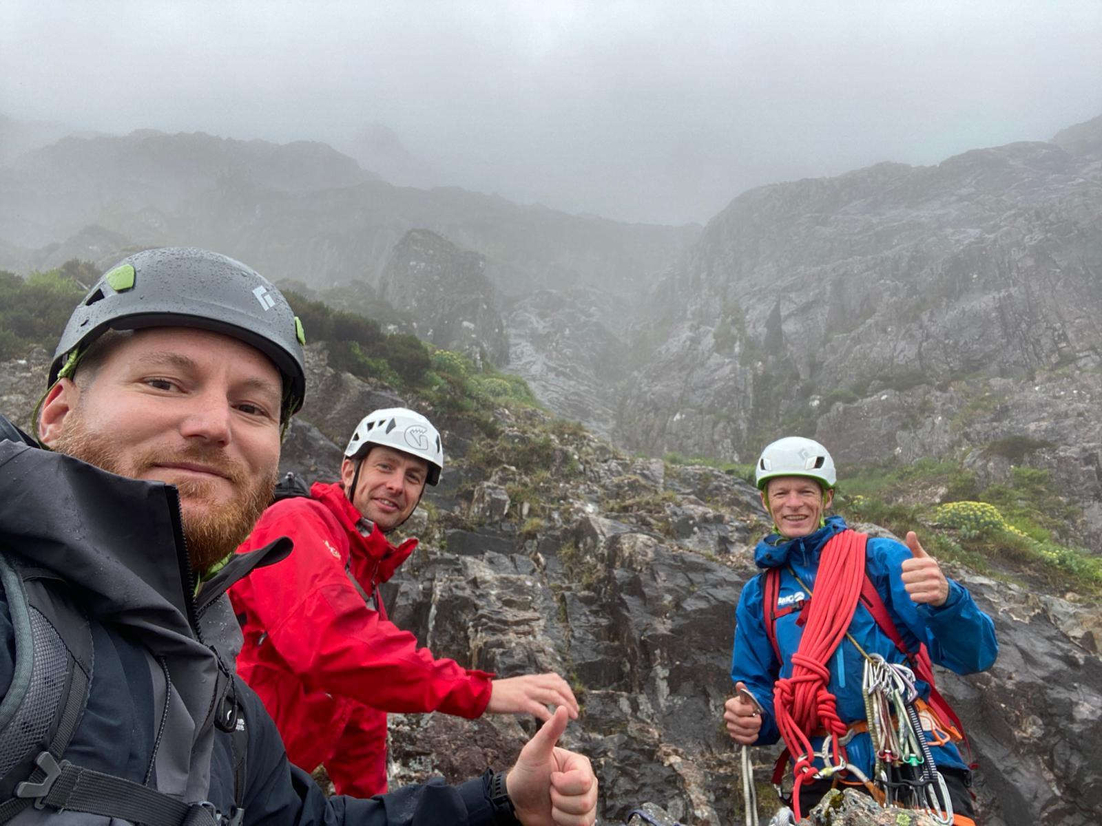 Mont Blanc Training Weekend, Scottish Highlands