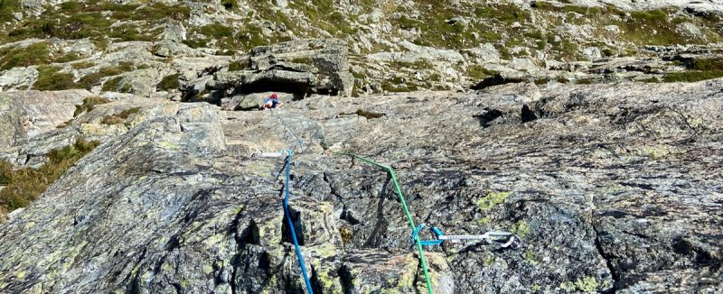 Course for rock climbing in Chamonix