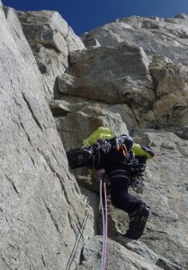 Quality Granite Rock Climbing on the South Face of the Dent du Geant