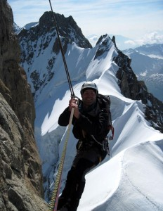 Spectacular Abseils off the Dent du Geant