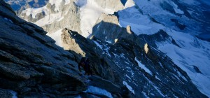 Another ascent of the Biner Slab