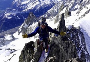 Great Spring Alpine Weather For The Entreves Traverse