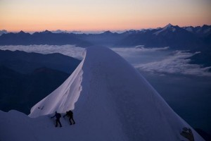 Classic Chamonix Mountaineering on Mont Maudits Frontier Ridge
