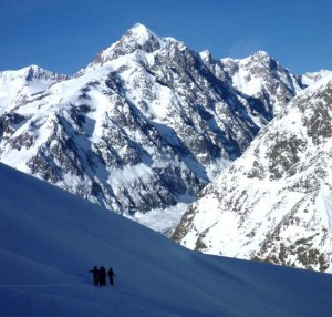 The Scenic Val Veny Descent from the Youla Lift at Courmayeur
