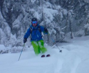 Les Houches At Its Best  Deep Powder Mid-Winter