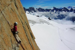Rebuffat Route Aiguille du Midi South Face