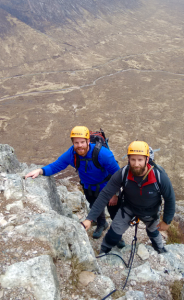Alpine Training Weekend Course On Curved Ridge Glencoe
