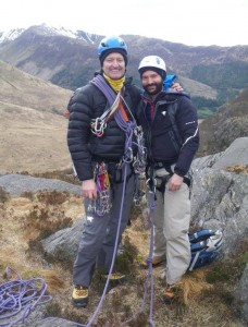 Scrambling and Moving Together Training In Glen Nevis