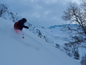 Superb Chamonix Powder Skiing At Balme
