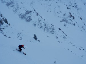 Ski Vormaine Couloirs - Le Tour