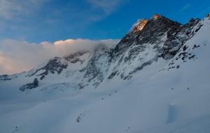 Traverse of the Glacier du Tseudet