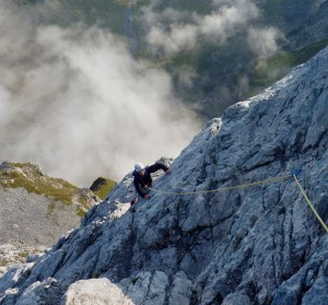 The Lower Pitches Of The Arete Du Doigt