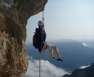 Abseil Off The Doigt